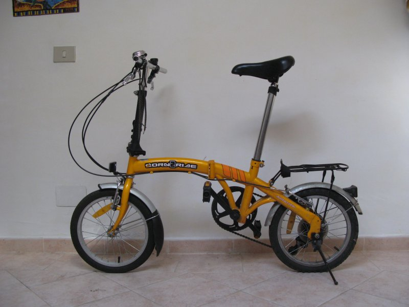 Born2ride 16 Una Bici Pieghevole Economica