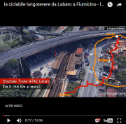 ciclabile lungotevere 3d