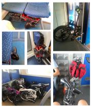 treno bici parcheggio