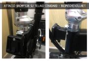 attacco borse brompton bici standard