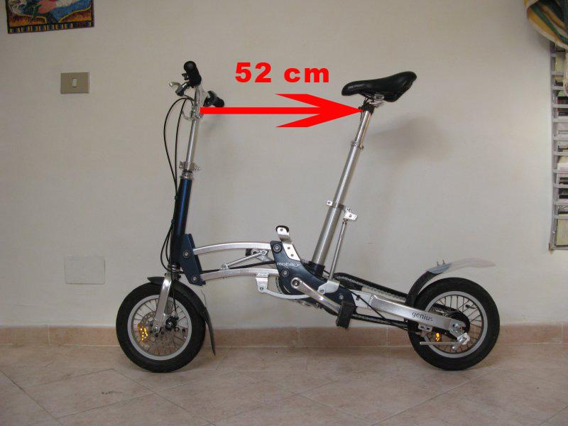 Bicicletta Pieghevole Mobiky Prezzo.Mobiky Genius Una Bici Da Intermodalita Spinta